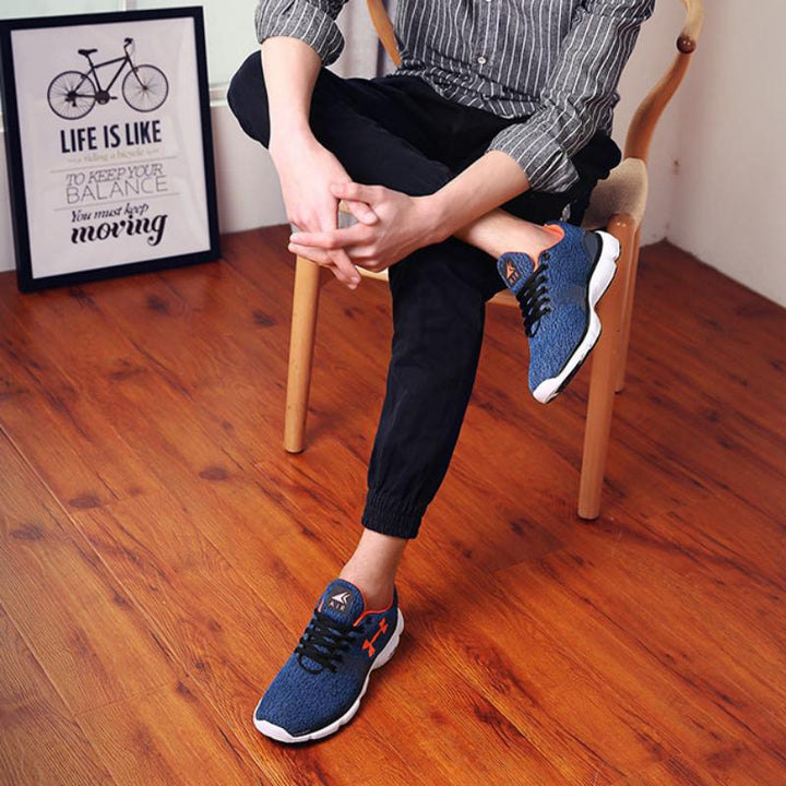 Men's Casual Lightweight Breathable Walking Sneakers