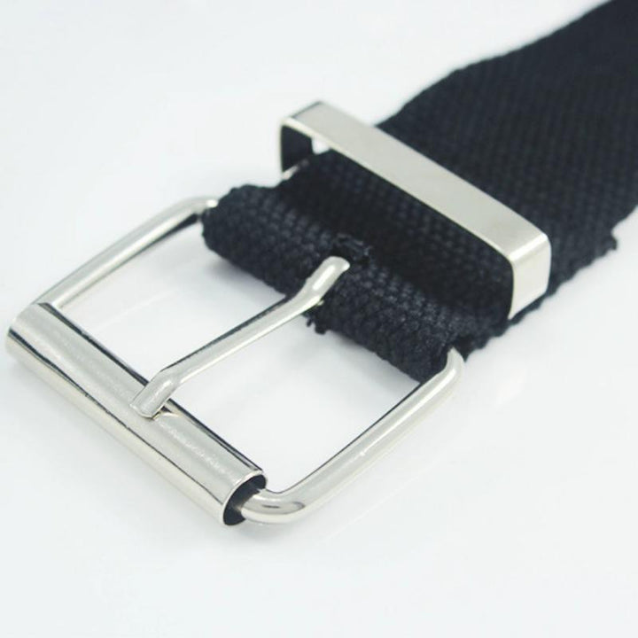 Women's Casual Canvas Belt With Pin Buckle