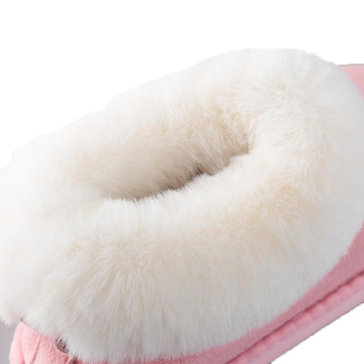 Women's Winter Warm Cotton Home Slippers