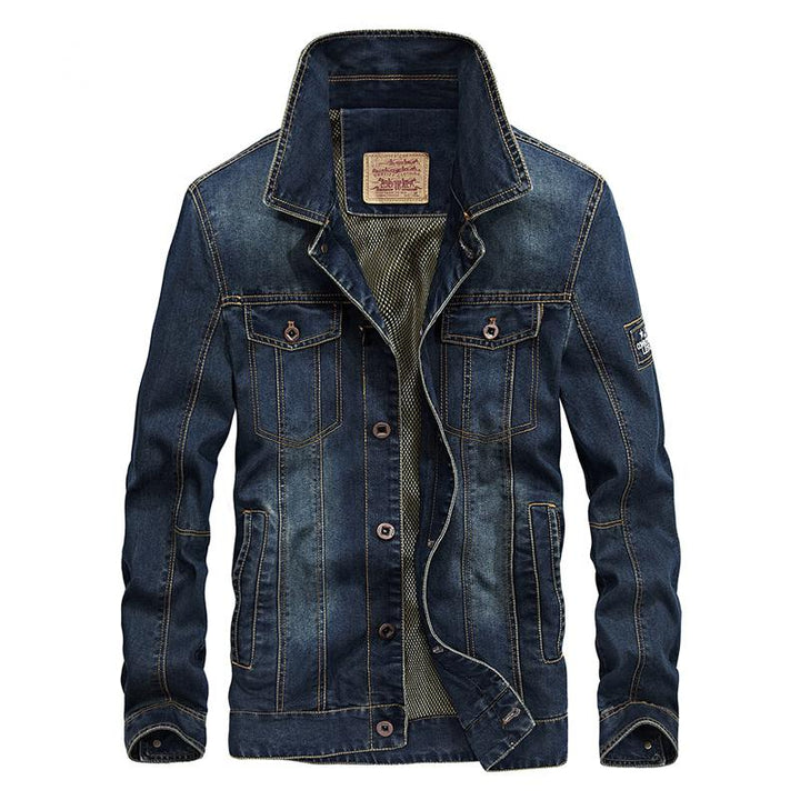 Men's Winter Casual Denim Jacket