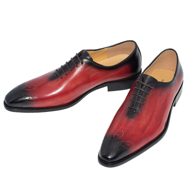 Men's Wedding Genuine Leather Shoes With Pointed Toe
