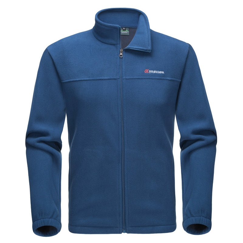 "Men's Fleece Sweatshirt With Zipper ""Fashion"""