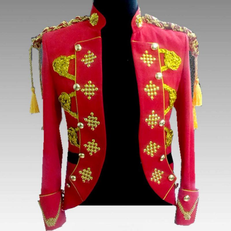 Men's Blazer With Epaulets