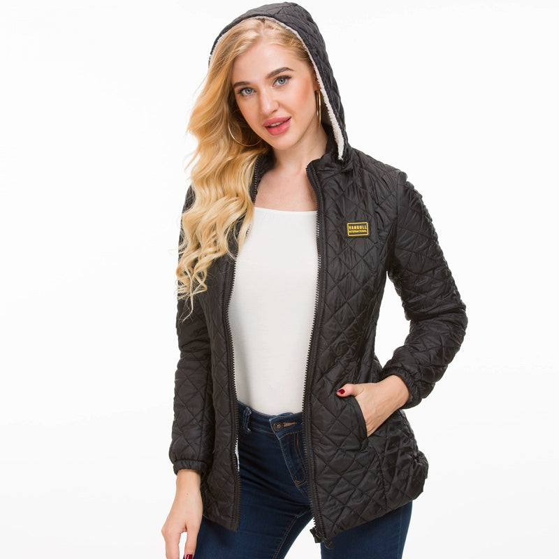 Women's Winter Warm Hooded Jacket