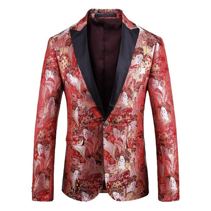 Men's Wedding Slim Fit Blazer
