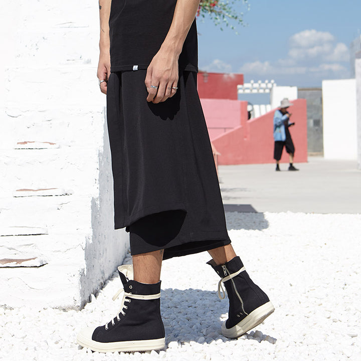 Men's Casual Wide Harem Pants