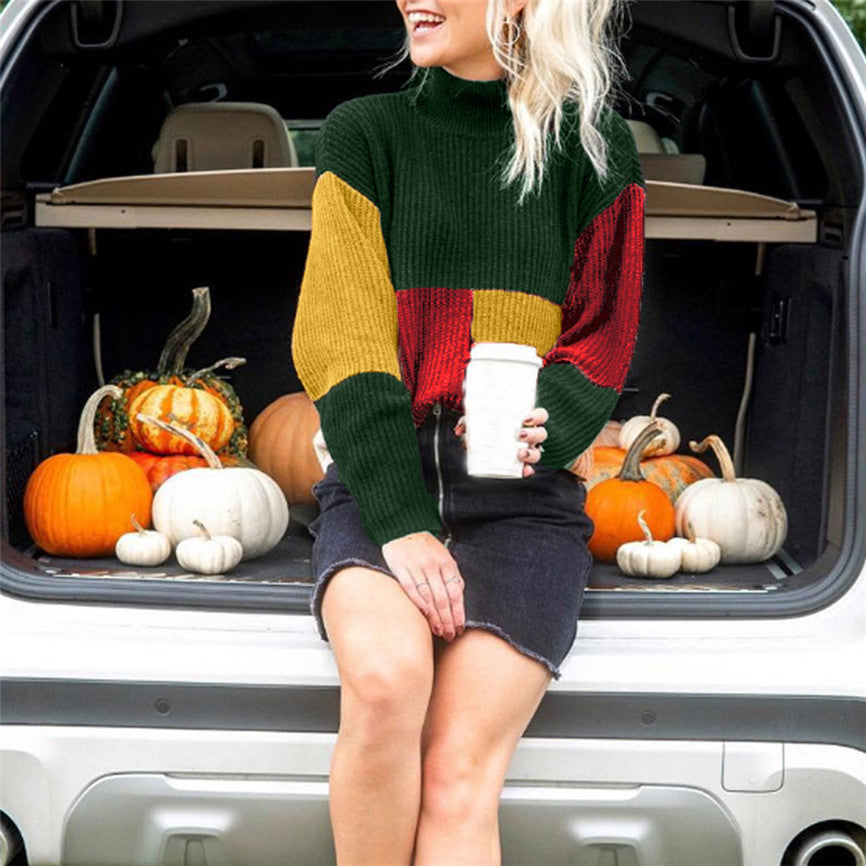 Women's Winter/Autumn Knitted Jumper