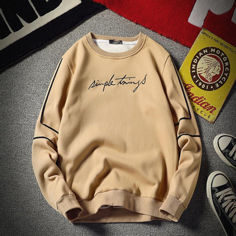 Men's Autumn/Winter Long Sleeved Printed Sweatshirt