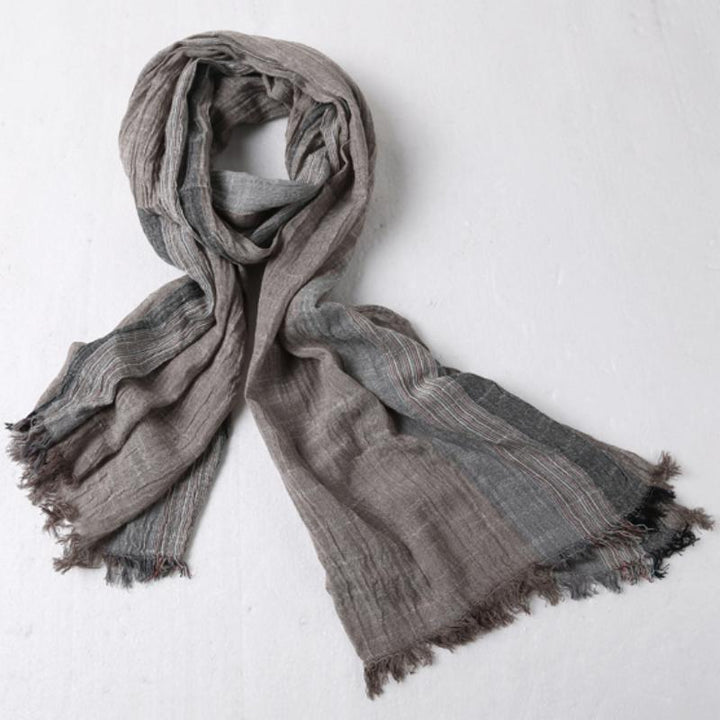 Men's Autumn/Winter Casual Cotton Scarf