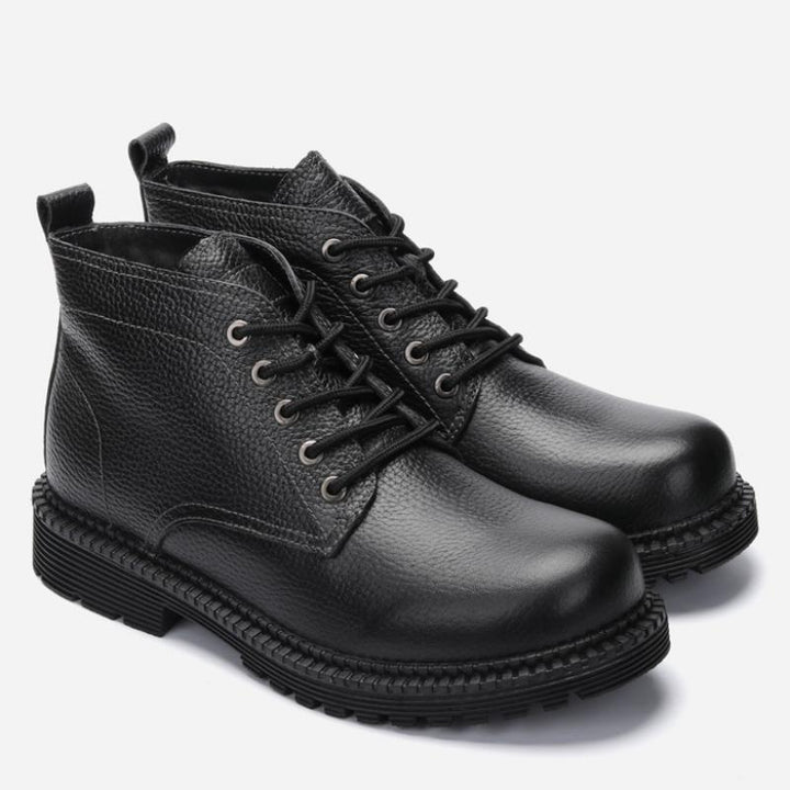 Men's Winter Genuine Leather Warm Boots