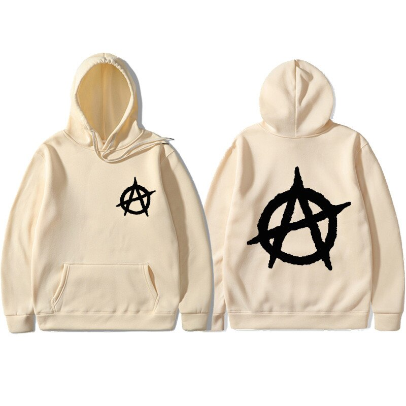 Men's Spring/Autumn Hooded Sweatshirt With Print