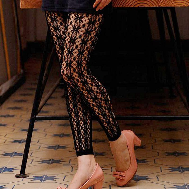 Women's Fishnet Footless Tights