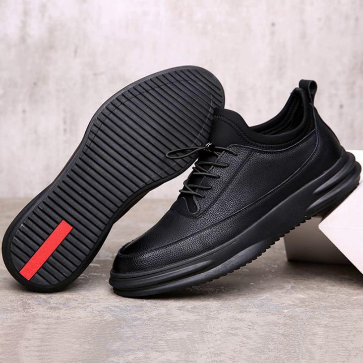 Men's Casual Leather Sneakers