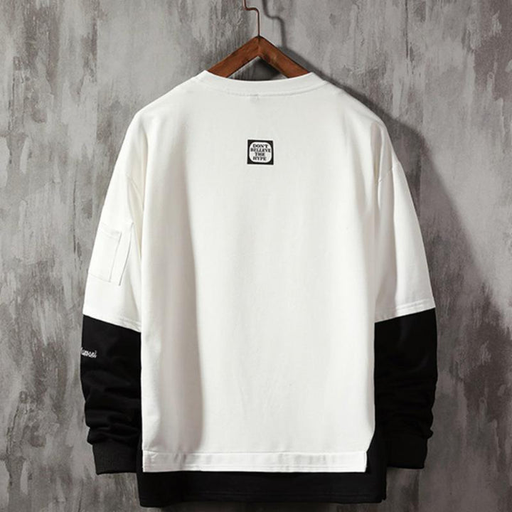 "Men's Spring Sweatshirt ""Blacktipe"""