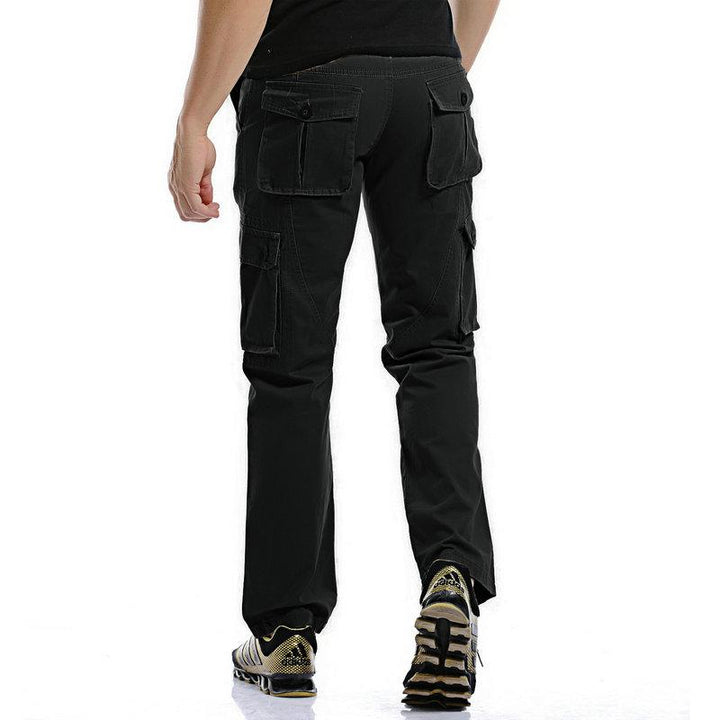 Men's Cotton Cargo Pants With Zipper
