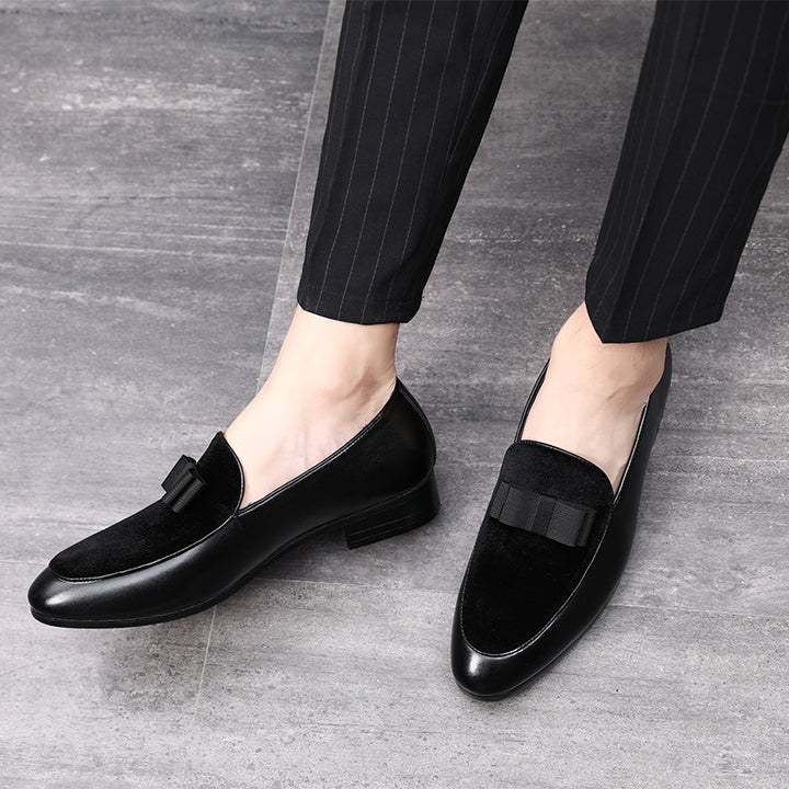 Men's Wedding Suede Loafers | Plus Size
