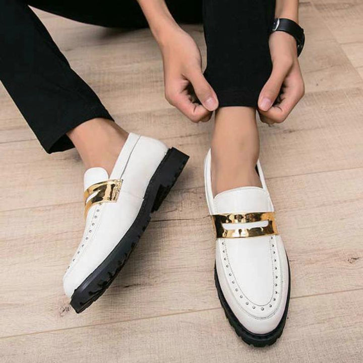Men's Wedding Leather Loafers
