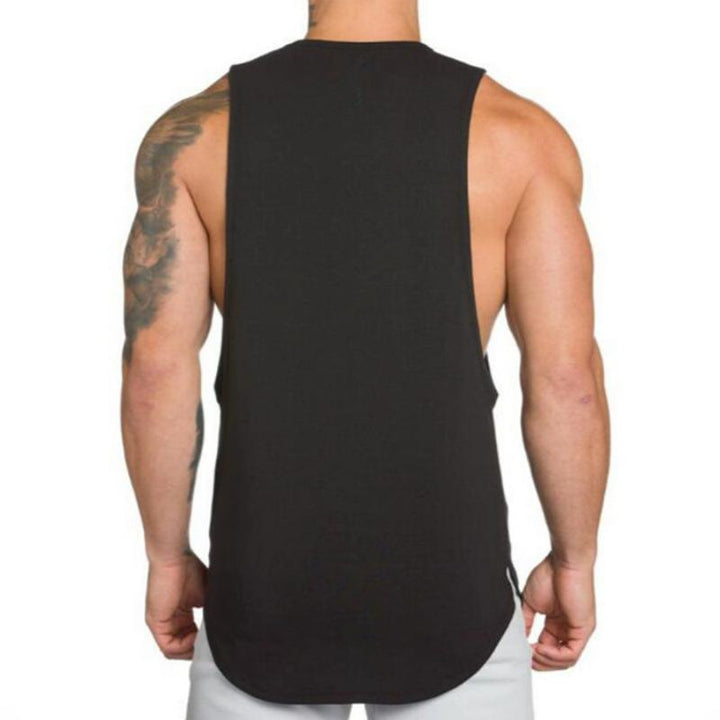 Men's Cotton Solid Colored Tank Top