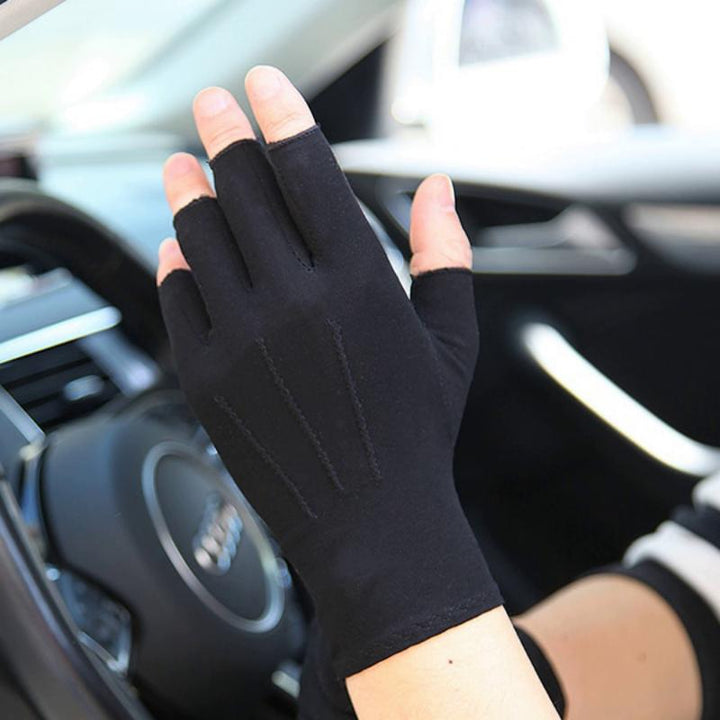 Men's Spring/Summer Fingerless Thin Gloves