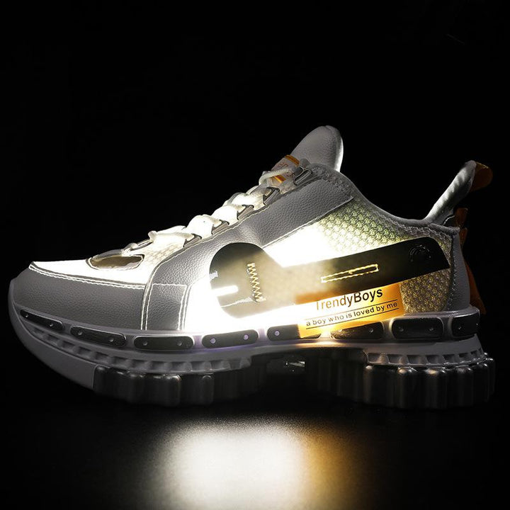 Men's Casual Breathable Lighted Sneakers