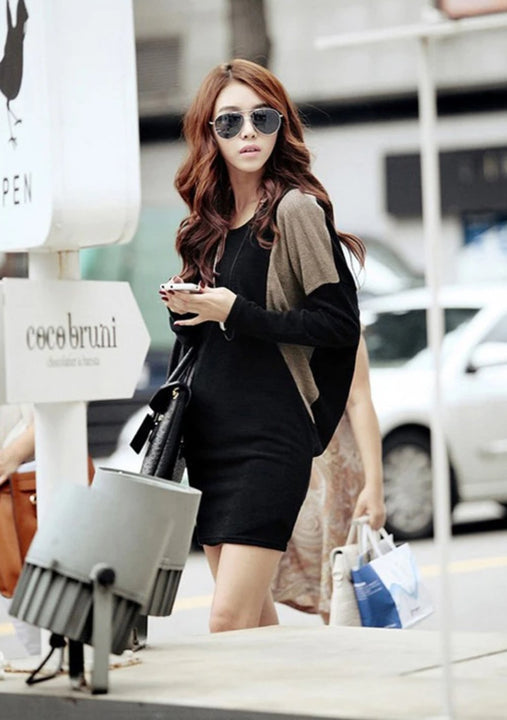 Women's Autumn/Winter Casual Sweater Long-Sleeved Dress