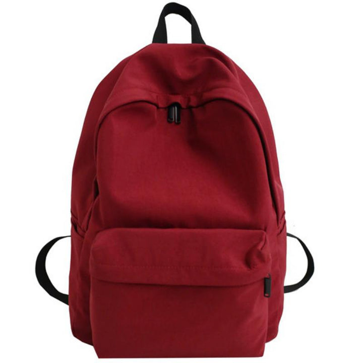 Women's Waterproof Nylon Solid Colored Travel Backpack