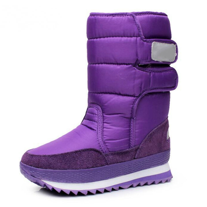 Women's Winter Casual Waterproof Snow Boots | Plus Size