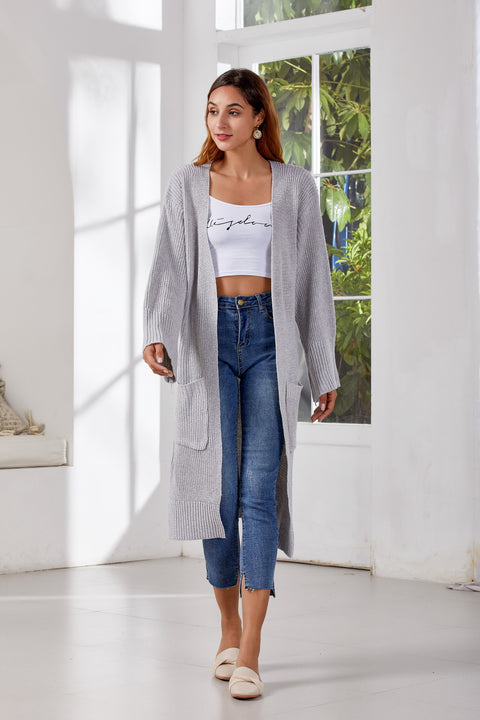Women's Autumn/Winter Casual Long Knitted Cardigan