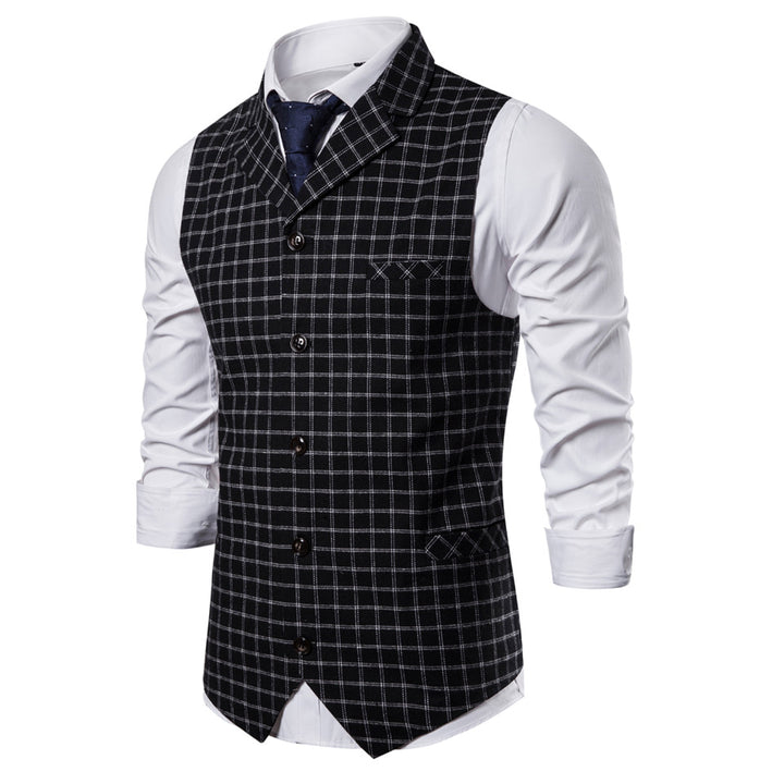 Men's Spring/Autumn Single Breasted Vest