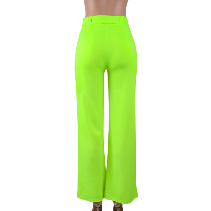 Women's Summer Casual High-Waist Slim Loose Long Pants