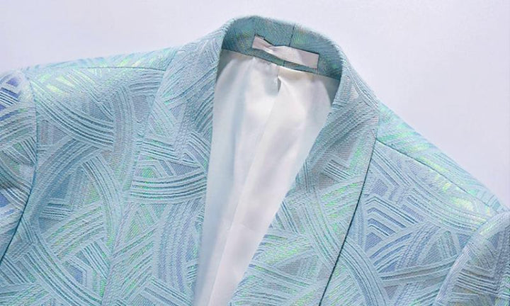 Men's Single Button Blazer
