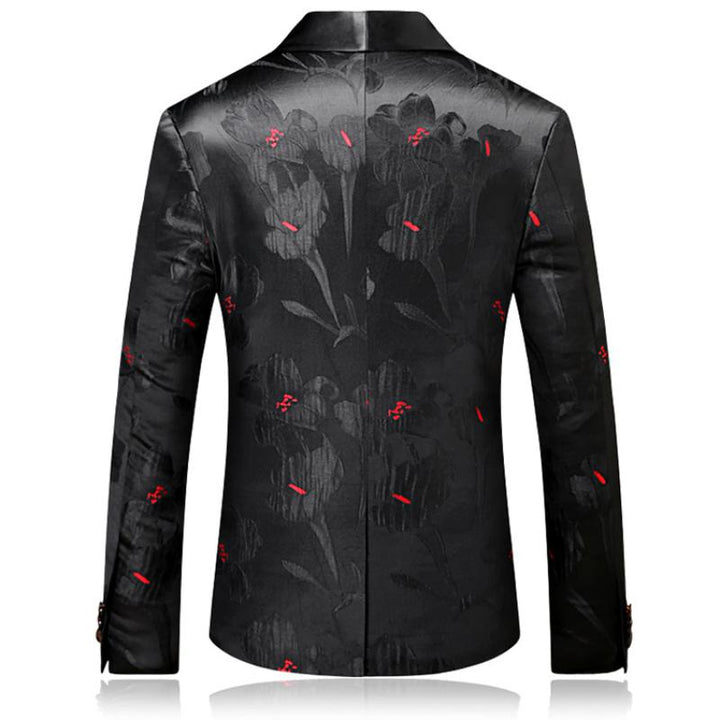 Men's Wedding Slim Single Button Blazer