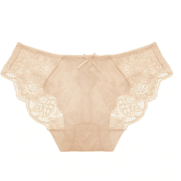 Women's Transparent Lace Low-Waist Panties