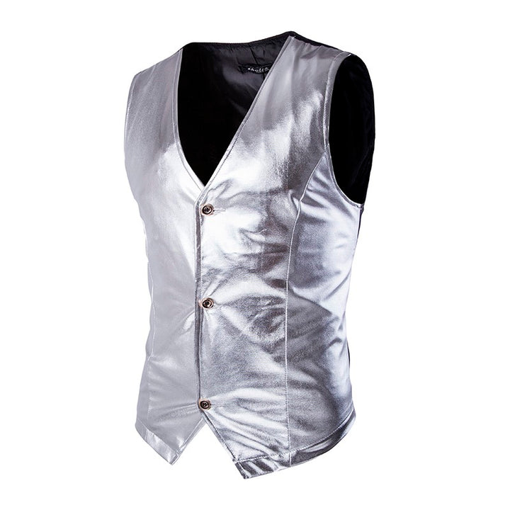 Men's Single Breasted Vest