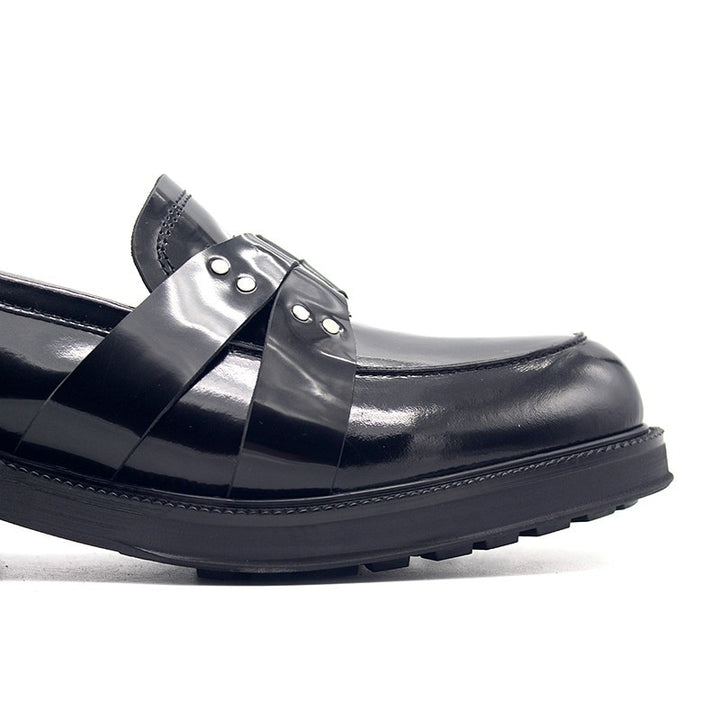 Men's Spring Genuine Leather Loafers