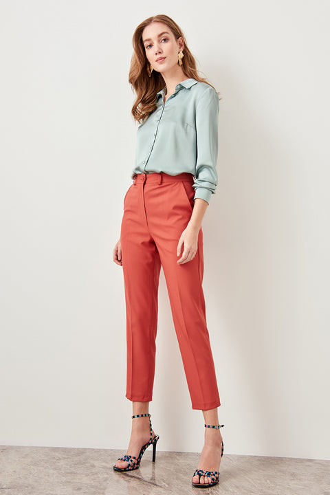 Women's Polyester Pants With Pockets