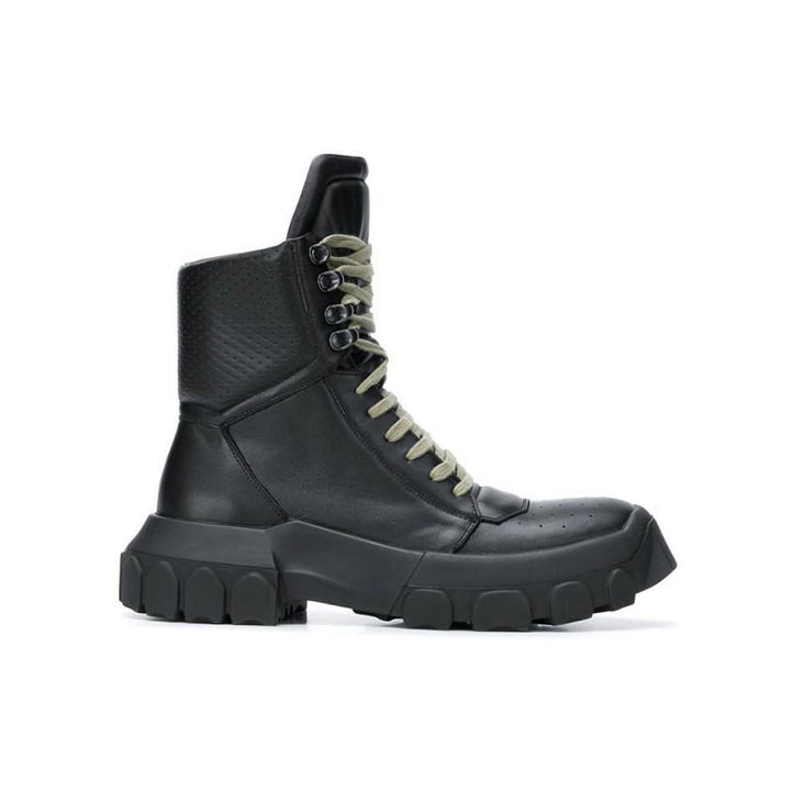 Men's Winter Genuine Leather Laced Up Boots