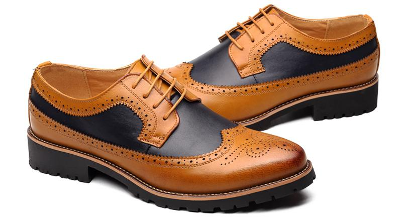 Men's Wedding Oxfords With Lace-Up