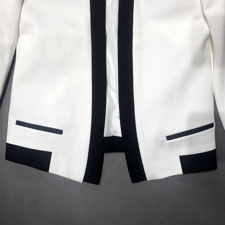 Men's Loose Single Breasted Blazer