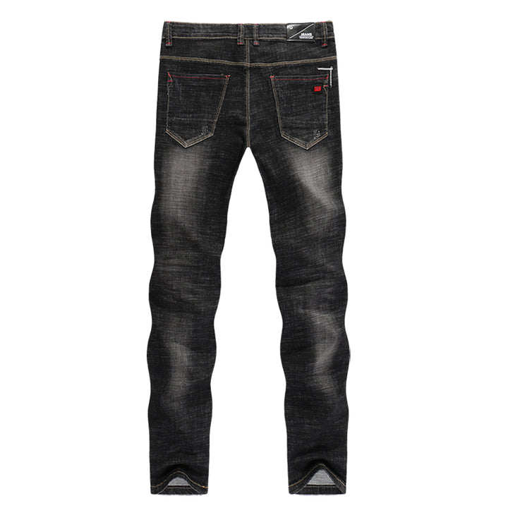 Men's Autumn Casual Slim Stretchy Jeans