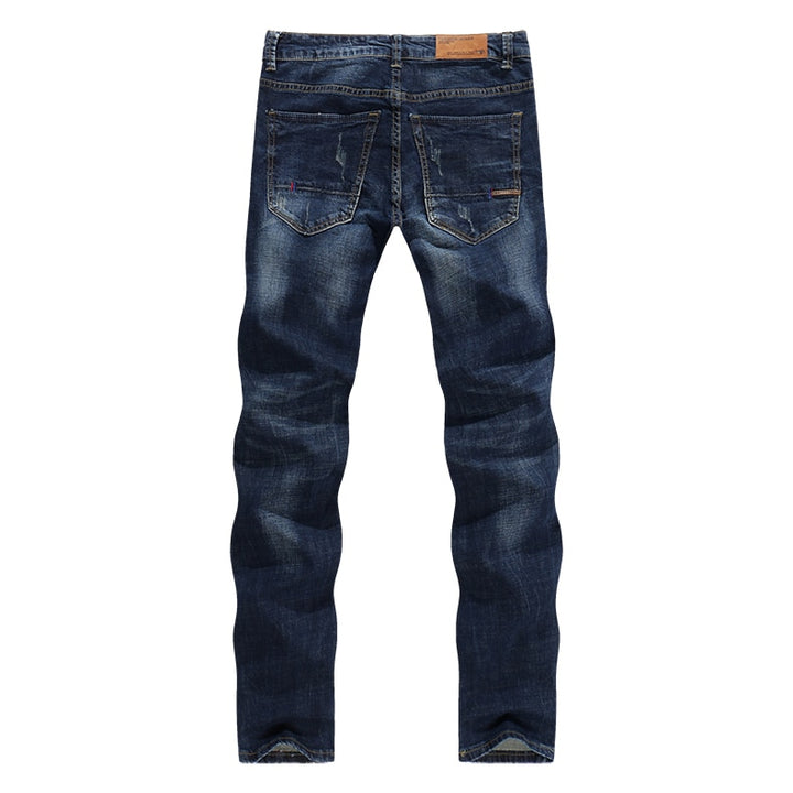 Men's Casual Stretchy Slim Jeans