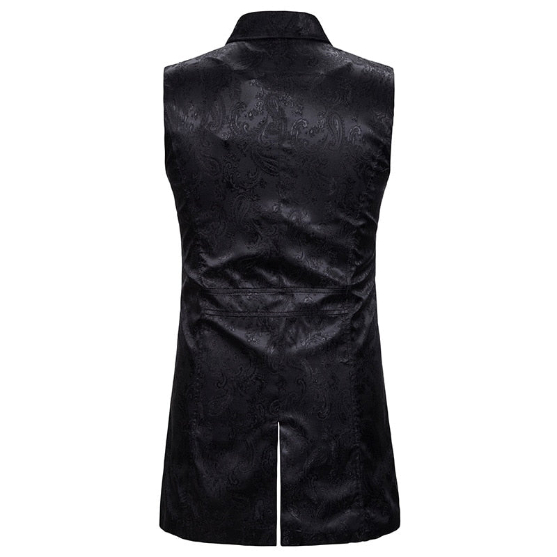 Men's Double Breasted Vest
