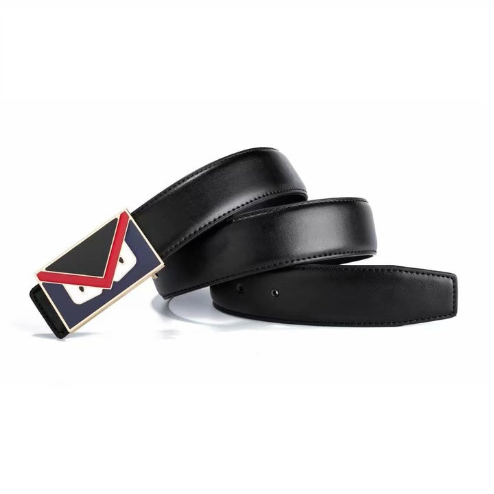 Men's Casual Leather Belt