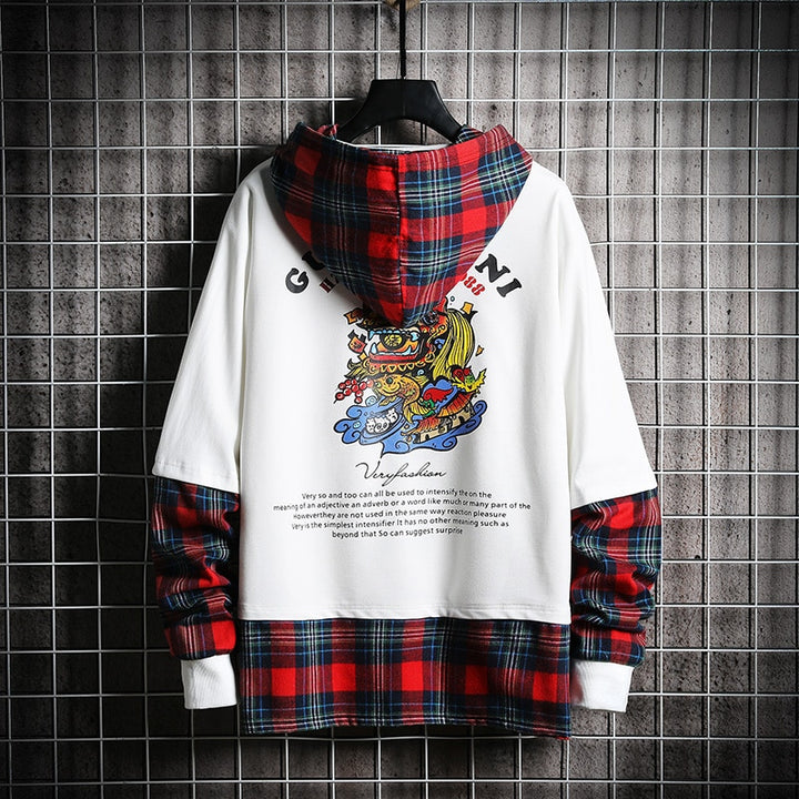 Men's Hooded Sweatshirt With Print