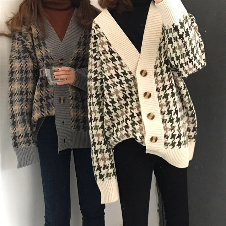 Women's Autumn/Winter Casual Knitted Long Cardigan