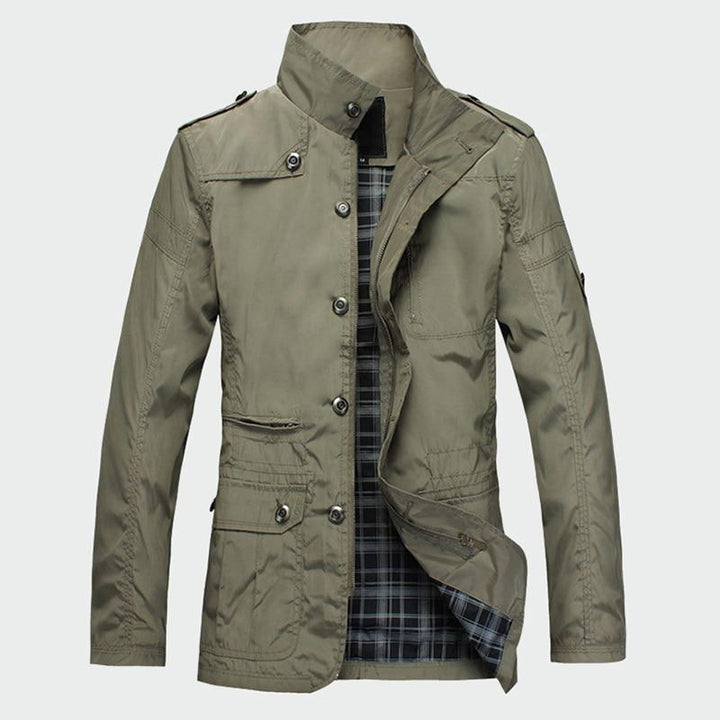 Men's Autumn/Spring Casual Thin Windbreaker