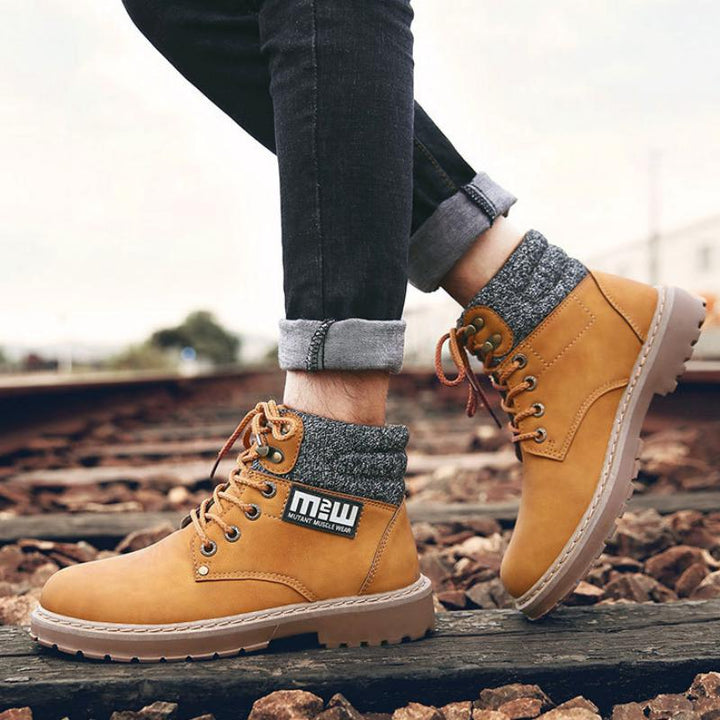 Men's Casual Warm Ankle Boots