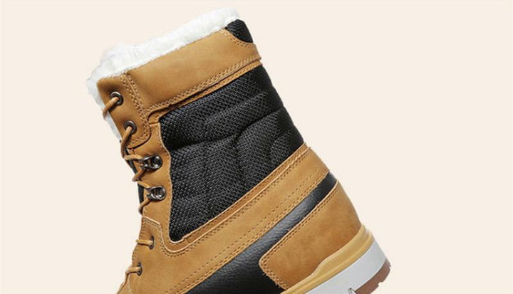 Men's Winter Casual Warm Waterproof Boots