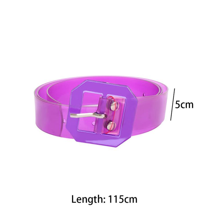 Women's Casual Plastic Belt