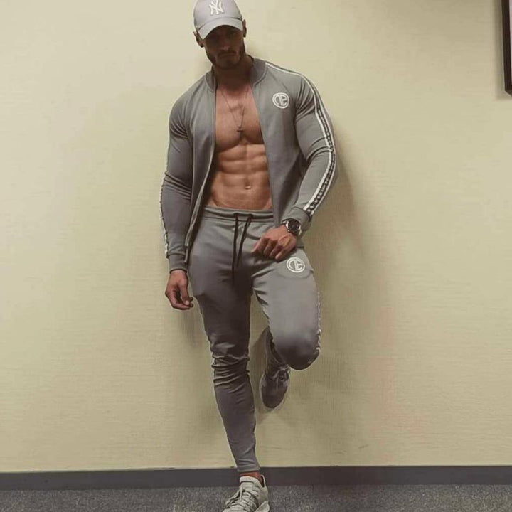 Men's Autumn Cotton Tracksuit